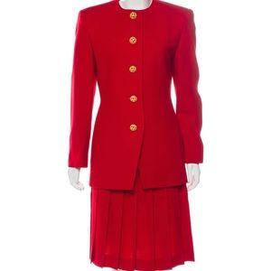 Vintage Christian Dior Wool Suit